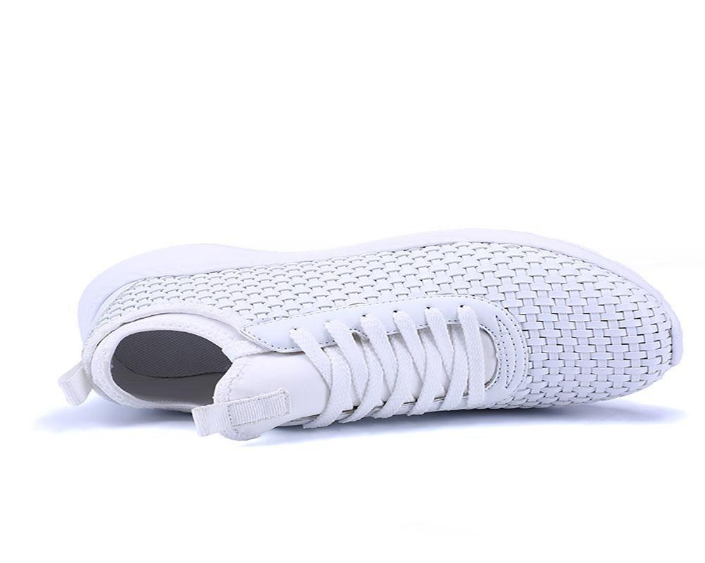 NANYDX Männer Herbst und Winter Rutschfest Stoßdämpfung Übung Schuhe Mode Mode Mode Dicker Boden Weben Atmungsaktiv Leichtgewicht Freizeit Schuhe e8f239