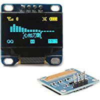 Facthuang 0.96 Inch Yellow Blue I2c IIC Serial Oled LCD LED Module 12864 128X64 for Arduino Display 51 Msp420 Stim32 SCR