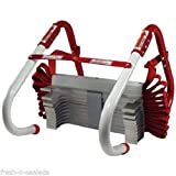 Fire Escape Ladder Emergency Escape Survival Bedroom Window 2 Story Safety