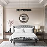 Queen Silk Sheet Set (15' Pocket) - White - Deluxe 22 Momme 100% Pure Mulberry Charmeuse Natural Bedding - Oeko-TEX Certified - Seamless