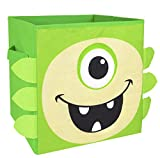Nuby Monster Folding Storage Bin, Green Review and Comparison