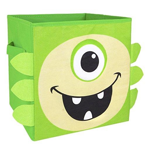 Nuby Monster Folding Storage Green