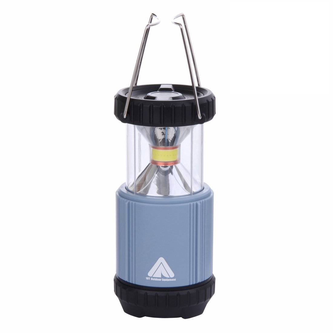 /Ø 89 x 123 mm blau 342 g Laterne 10T COL 300 COB LED 5W helle Camping-Lampe mit 300 Lumen