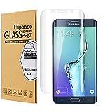 Samsung S7 Edge Screen Protector,Galaxy S7 Edge Screen Protector,Flipcase [Full Coverage][3D Full Curved Edge] [Tempered Glass] Screen Protector for Samsung Galaxy S7 Edge (#003)