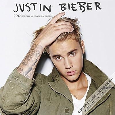 Buy 1 Get 1 Free-official Justin Bieber 2017 Calendar