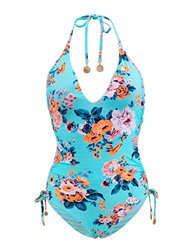 Seafolly-Womens-Patterned-Reversible-Deep-V-One-Piece-Swimsuit
