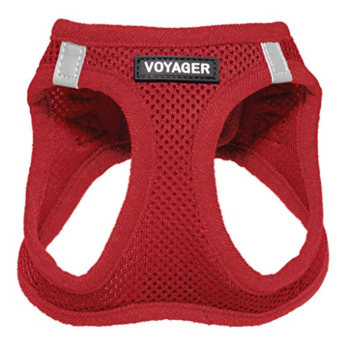 Voyager Step-in Air Dog Harness – All Weather Mesh, Step in Vest Harness for Small and Medium Dogs by Best Pet Supplies…