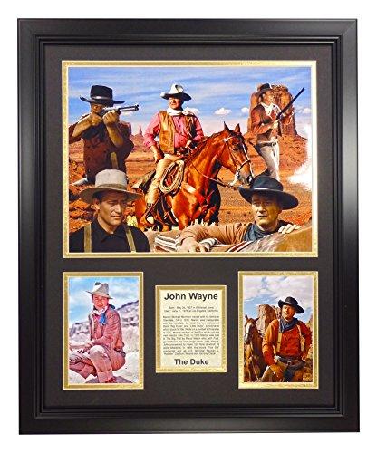 Legends Never Die John Wayne - Collage Framed Photo Collage, 16