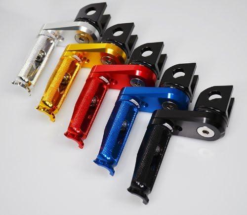 (2008-2013) Kawasaki Ninja 250R 250 EX250 ZZR250 ZX250 GPX250R GPZ250 Billet Aluminum Adjustable Footpegs Footrests Rearsets