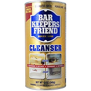 Bar Keepers Friend All-Purpose Cleaner & Polish 12 oz (Pack of 6)