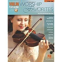 WORSHIP FAVORITES VIOLIN PLAY-ALONG - SONGBOOK/ON-LINE AUDIO