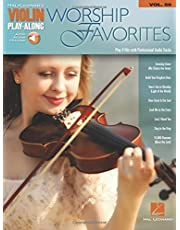 Worship Favorites: Violin Play-Along Volume 59