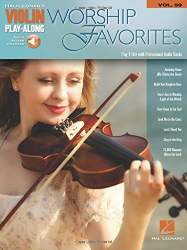 (Worship Favorites Violin Play-Along Volume 59 (Book/Online Audio) (Hal Leonard Violin Play-Along))