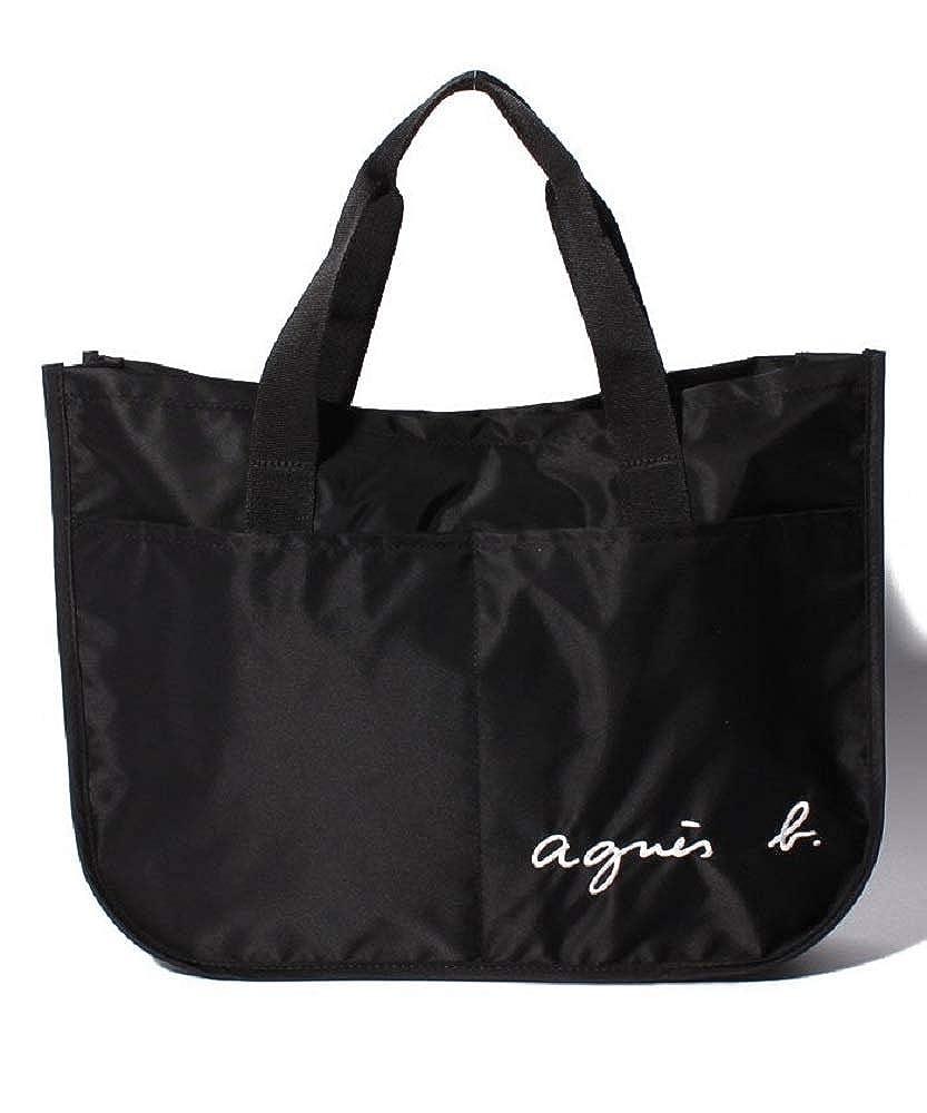 アニエスベー agnès b. ENFANT GL11 E BAG バッグ レッスンバッグ ロゴ   B07MK13J2S