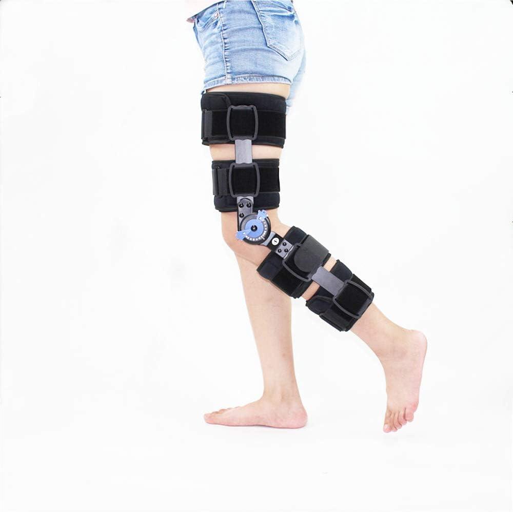 Lixada Aparato de Articulación de la Rodilla, órtesis de Rodilla, lesión del ligamento de la Rodilla, para Ejercicios posoperatorios de rehabilitación de la Pierna