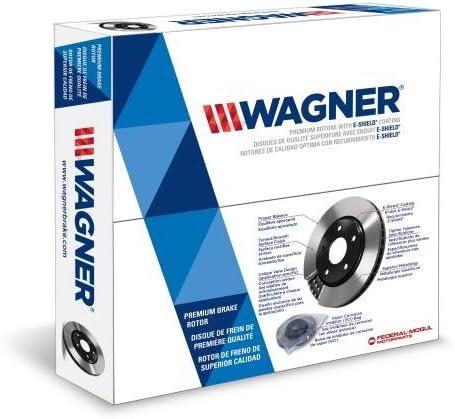 Disc Brake Pad Set-ThermoQuiet Disc Brake Pad Rear Wagner QC975
