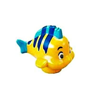 LEGO Disney Flounder Fish Minifig Minifigure Loose from Little Mermaid: Toys & Games