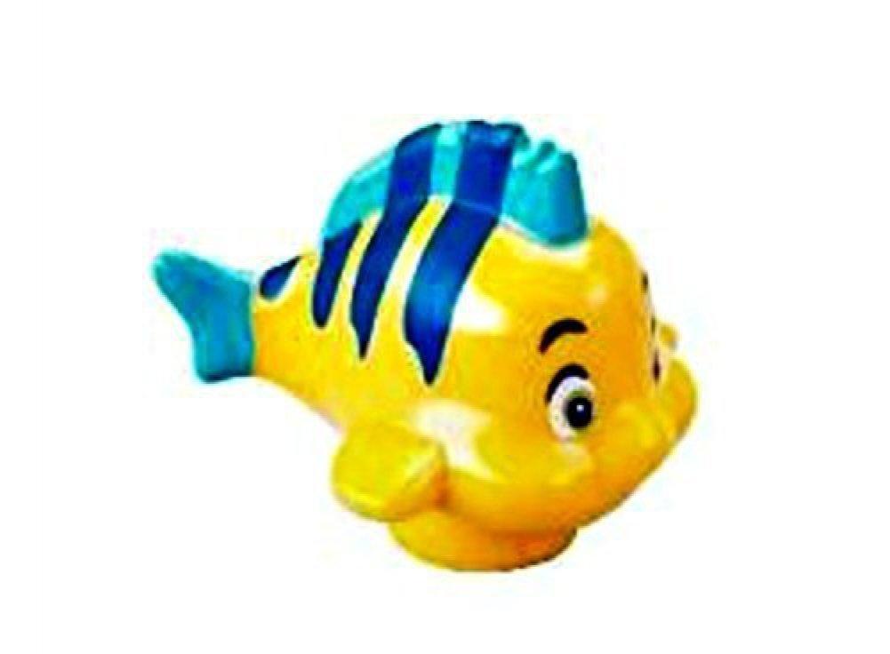 LEGO Disney Flounder Fish Minifig Minifigure Loose from Little Mermaid