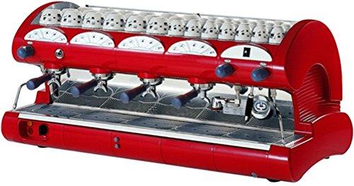espresso machine commercial red - 6
