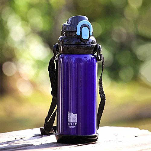 Ieasycan Simple Style Thermos Cup Coffee Tea Water Bottle For Sports Tourism Office 304 Stainless Steel Insulation Mug