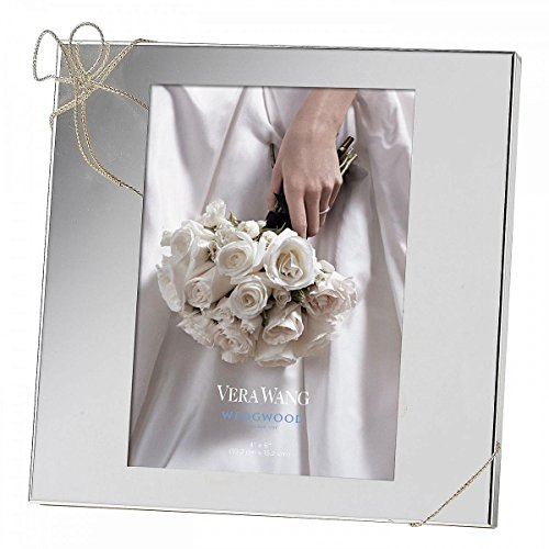 UPC 044228191232, Vera Wang by Wedgwood Silver Plate Love Knots 4x6 Frame