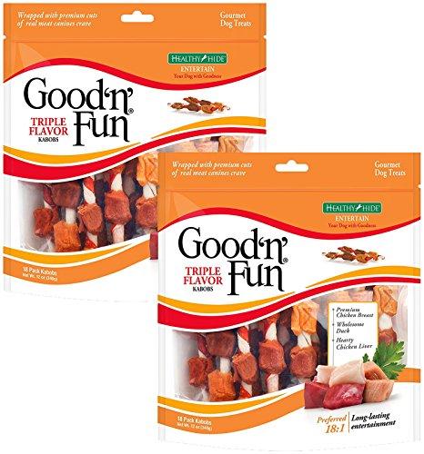 Good'n'Fun Triple Flavor Kabobs 18 Count (2 Pack) WERNB ()