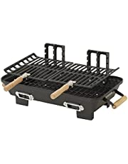Marsh Allen 30052AMZ Kay Home Product's Cast Iron Hibachi Charcoal Grill, 10 by 18-Inch