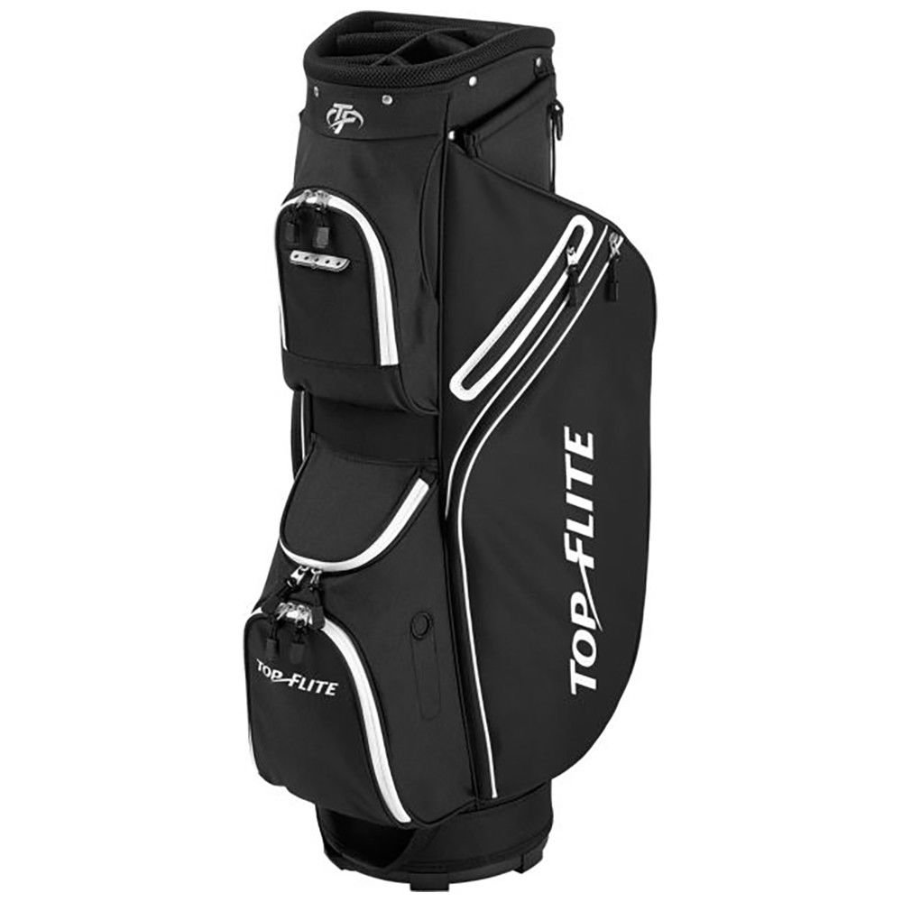 Top Flite 2018 Golf Cart Bag Mens Lightweight 8-Way Top - Black