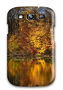 Heidiy Wattsiez's Shop Hot Snap-on Autumn Lake Case Cover Skin Compatible With Galaxy S3
