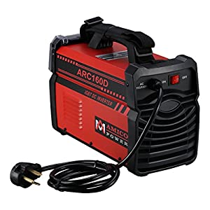 ARC-160D 160 Amp STICK ARC IGBT Inverter DC Welder 115/230 Dual Input Voltage Welding Soldering by Amico Power Corp