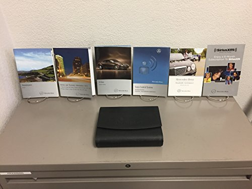 2012 MERCEDES-BENZ OWNER'S MANUAL SET WITH CASE FOR ALL S-CLASS S550 S600 S63 AMG MODELS ()
