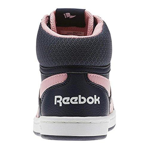 Reebok Reebok Royal Prime Mid–�?, Mädchen Sneaker, Blau (Navy/Squad Pink/White)