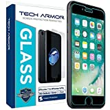 "Tech Armor iPhone 6 & iPhone 6S (4.7"") Ballistic Glass Screen Protector - 99.99% Clarity and Touch Accuracy"
