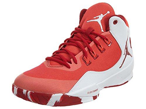 quality design d1af3 e7955 Galleon - Nike Men's Jordan Rising High 2 Basketball, Red,13 ...