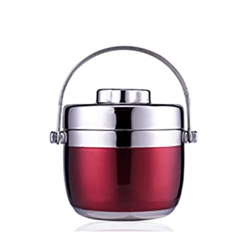 DAMAILE Fiambrera Acero Inoxidable Lunch Box Recipiente para ...
