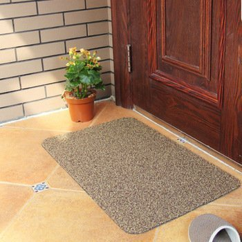 Super Clean Mat Super Absorbant Door Mat with Non Slip Backi