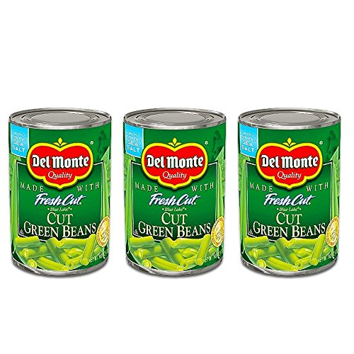 (Del Monte Blue Lake Cut Green Beans w/Natural Sea Salt 14.5 Oz. (3 Pack))