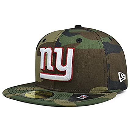 New York Giants New Era NFL Woodland Camo 59Fifty Fitted Hat (7 1 4 983234125ea