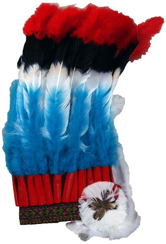 Forum Deluxe Native American Headdress (Feathered Headdress)