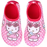 Joah Store Girls Hello Kitty Water Shoes Quick Dry Non-Slip Barefoot Sports Shoes Aqua Socks Runs Small (12 M US Little Kid, Hello Kitty)