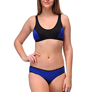 2823247812 Urbaano Serena Sports Non Padded Wirefree Lingerie Set for Woman ...