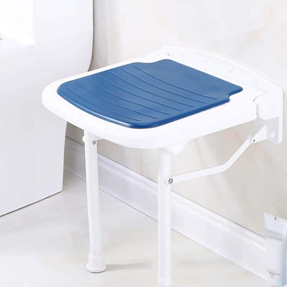 Amazon.com: Shower Stool Chair Bench Seat Folding Non-Slip Shower ...