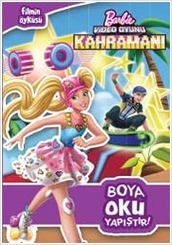 Barbie Video Oyunu Kahramani Boya Oku Yapistir Collective
