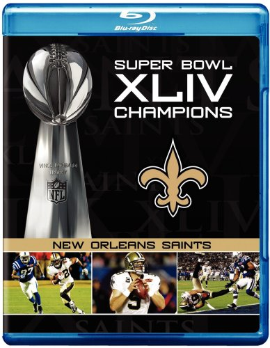 NFL Super Bowl XLIV: New Orleans Saints Champions -