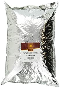Copper Moon Papua New Guinea Coffee, Dark Roast. Whole Bean, 5-Pound Bag