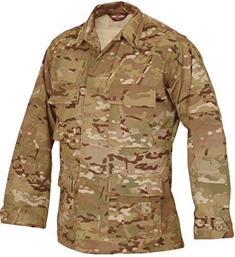 Tru-Spec Nylon-Cotton Ripstop BDU Jacket, Multicam, Extra La
