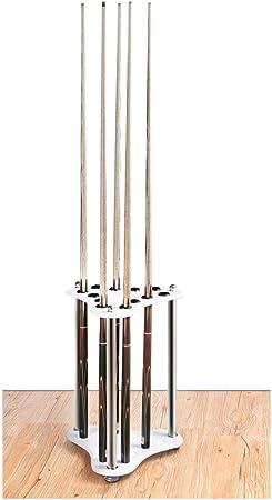 WXS Supports de Table de Billard au Sol 12 Trous Accessoires de Billard de Snooker pour 12 Baguettes