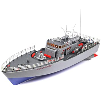 RC Torpedo Boat 1/115 4CH Large RC Boat HT-2877A Fast & Furious