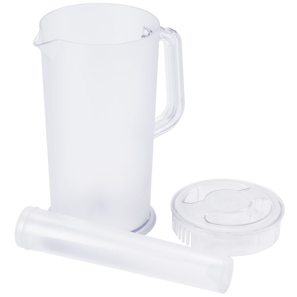 Plastic Ice-Tea & Juice Pitcher w/ Ice Tube, 66 Fluid Ounces by Pride Of India