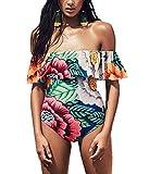 CoCo Fashion Womens Push up Padded Colorblock Bikini Small Swimwear O03,Small